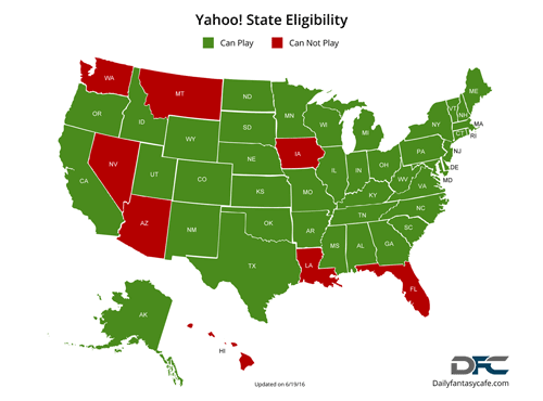 Yahoo State Eligibility Map